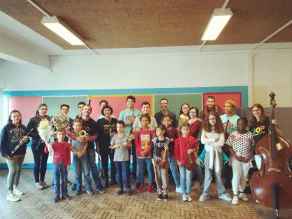 OFICINA DE MÚSICA | Improvisação livre em grupo (site-oriented) | 2019